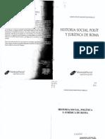 Amunátegui Perelló, Carlos Felipe.  Historia Social, política y jurídica de Roma.7
