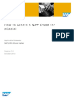 How to Add a New Event to ESocial