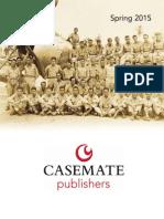 Casemate Spring 2015 Catalog