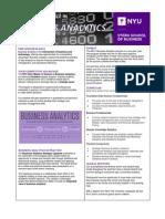 MSBA Info Sheet