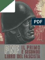 PNF - Il 1° e 2° libro del Fascista