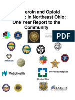 Full Draft One Year Report to the Community w Cover -The Heroin Epidemic in Northeast Ohio (3)