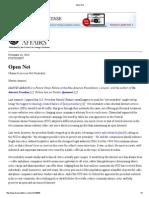 Open Net - Obama Scores on Net Neutrality