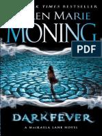 Darkfever by Karen Marie Moning, 50 Page Fridays