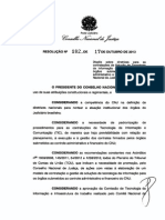 CNJ Resolucao n182 17out2013 Diretrizes Contratacao Solucoes TIC