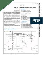 datasheet LM3429