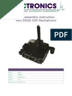 Dis-Assembly Instruction DSG6
