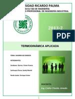 Proyecto de Termodinamica - Final