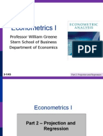Econometrics I 2