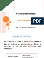 Productividad, Eficiencia y Eficacia GESTION EMPRESARIAL