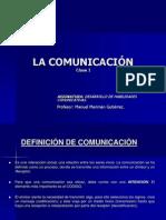 Clase I La comunicación.ppt