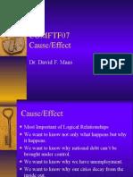 COMFTF07Causal Analysis Rev 03-12-06.