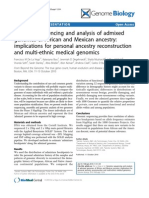 Genome Biology Volume 11 Issue 1 Supplement 2010 [Doi 10.1186%2Fgb-2010-11-s1-o4] Francisco M de La Vega, Katarzyna Bryc, Jeremiah D Degehnardt… -- Genome Sequencing and Analysis of Admixed Genomes of African and Mexica