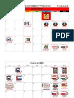 Calendario Judo 2010