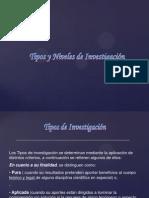 Tipos y Niveles de Investigacion VII