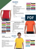 Gildan Catalog