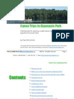 Wilderness Adventures - Algonquin Park Canoe Trips Free EBooklet