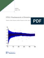 Fundamentals of Statistics 2