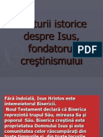Mărturii Istorice Despre Isus,