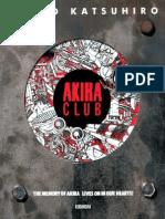 Akira Art Book Otomo Katishuiro