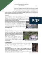 Informe Captaciones Agua Potable