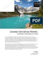 v12-062 Canadian Derivatives Markets-Co-Existing in the Shadow of a Giant