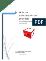 Acta de Constitución Del Proyecto .v1