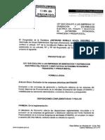 Proyecto de Ley Nº 3978/2014-CR