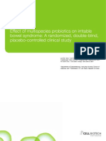 PROTBIOTICS-Effect on IBS Duolac Vitality Clinical Study 2014
