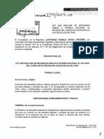 Proyecto de Ley Nº 3977/2014-CR