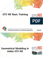 Introductory Training in Midas GTS NX