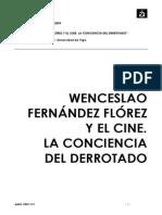 Wenceslao Fernández Flórez y el cine