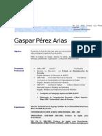 Prof. Gaspar Supervisor Curso de Inglés Para Pilotos