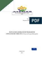 Manual de Elaboração de Tcc 2013