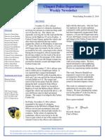 City Council Letter 20141121