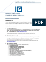 NDG Linux Essentials FAQs