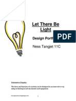 Let there be light Design Portfolio