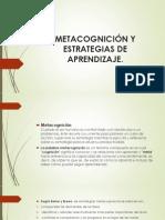 Metacognición y Estrategias de Aprendizaje