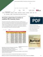 Hacienda y Gobernadores Acuerdan No Modificar IVA, Fonacide y Bonos - Edicion Impresa - ABC Color