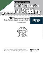 Cursive Writing Practice Jokes & Riddles