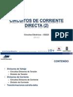 Circuitos de Corriente Directa (3) 2013lg