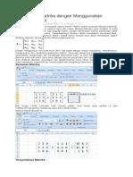 Menghitung Matriks dengan Menggunakan Microsoft Excel.docx
