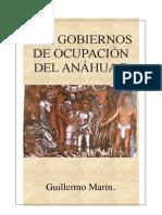 Los Gobiernos Prehispanicos del Anahuac