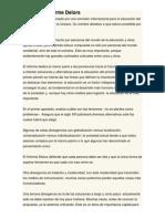Resumen Informe Delors