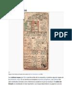 Que Son Los Códices Mayas