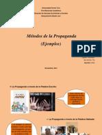 Métodos de Propaganda (Ejemplos)-SAIA