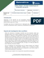 Actividad Integradora 1. Matematicas III