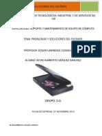 Problemas y Soluciones Del Escaner.