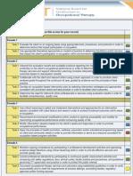 nbcot self assessment report aspx