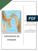 topografia panameña